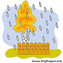 Pluie image gratuite – Automne cliparts