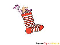 Dessin gratuit chaussette – Avent image