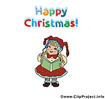 Fille clipart - Avent dessins gratuits