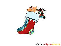 Image à télécharger chaussette – Avent clipart