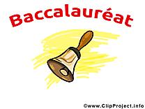 Clochette clip art – Baccalauréat image gratuite
