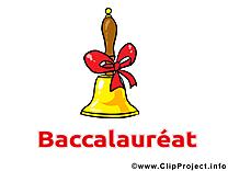 Clochette dessins gratuits – Baccalauréat clipart