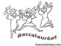 Coloriage cliparts gratuis baccalauréat images