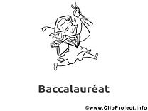 Coloriage images baccalauréat clip art gratuit