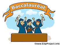 Dessins gratuits fête – Baccalauréat clipart