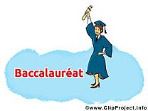 Fin de l'école dessin – Baccalauréat cliparts à télécharger