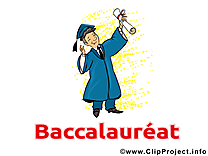 Illustration gratuite baccalauréat clipart