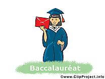 Lettre illustration – Baccalauréat images