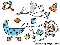 Crèche images – Bébé clip art gratuit
