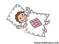 Dessin lit bébé à télécharger