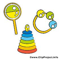 Jouets image gratuite – Bébé illustration