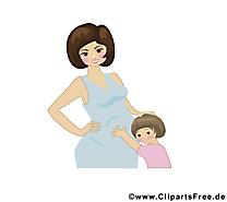 Maman bébé image à télécharger gratuite