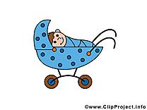 Poussette clipart gratuit – Bébé images
