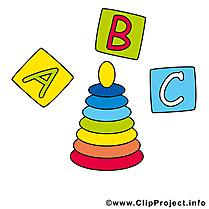 Pyramide cubes images gratuites – Bébé clipart