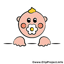 Tête bébé image à télécharger gratuite