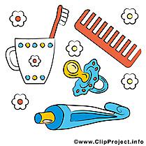 Tétine tasse clipart – Bébé dessins gratuits