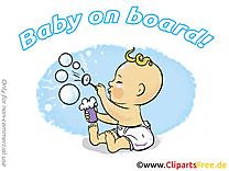 Bulle de savon image à télécharger – Bébé à bord clipart
