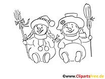 Bonne année coloriage pour enfants