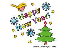 Clipart nouvel an gratuite