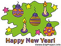 Images meilleurs voeux gratuites bonne année