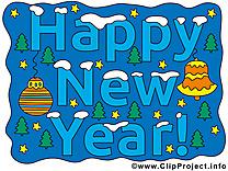Images nouvelle année gratuites