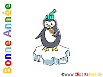 Pingouin clip art image