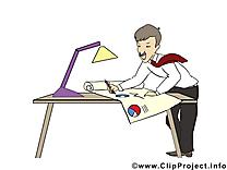 Architecte dessin – Bureau clip arts gratuits
