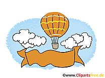 Ballon images gratuites – Bureau clipart