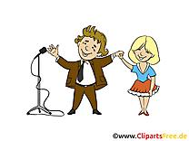 Concert cliparts gratuis – Bureau images
