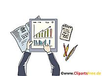 Diagramme cliparts gratuis – Bureau images