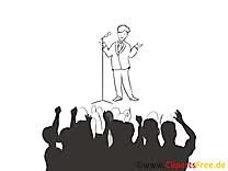 Discours bureau image à télécharger gratuite