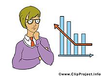 Économiste clip arts gratuits – Bureau illustrations