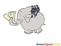 Éléphant dessins gratuits – Bureau clipart