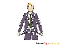 En faillite clip arts gratuits – Bureau illustrations