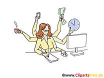 Femme d'affaire clip art gratuit – Bureau images