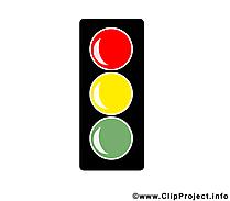 Feu tricolore dessin – Bureau à télécharger