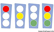 Feu tricolore images – Bureau clip art gratuit