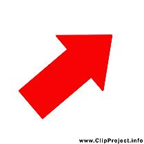 Flèche dessin – Bureau clip arts gratuits