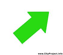 Flèche illustration gratuite – Bureau clipart