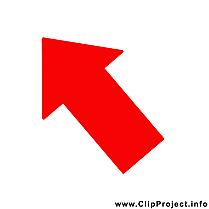 Flèche image à télécharger – Bureau clipart