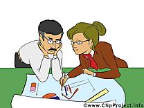 Graphique clipart – Bureau dessins gratuits