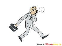 Homme d'affaire image gratuite – Bureau cliparts