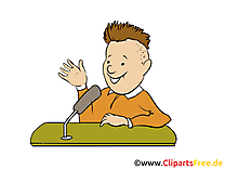 Interview clipart – Bureau dessins gratuits