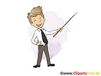 Lecteur clip arts gratuits – Bureau illustrations