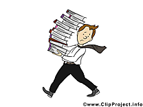 Livres images gratuites – Bureau clipart