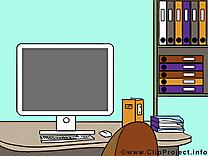 Ordinateur dessin – Bureau à télécharger