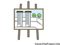 Plan bureau illustration à télécharger gratuite