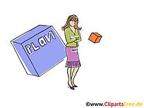 Plan dessin – Bureau cliparts à télécharger