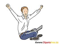 Reussi dessin – Bureau clip arts gratuits