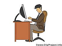 Travail image gratuite – Bureau clipart